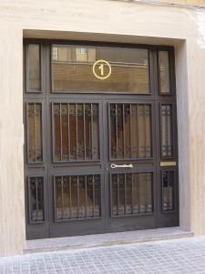 Puerta de zaguán