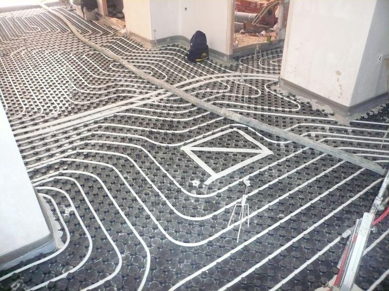 Trabajos restauraciones y reformas de la vivienda - Calefaccion suelo radiante ...