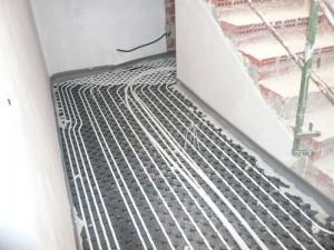 Calefacción suelo radiante